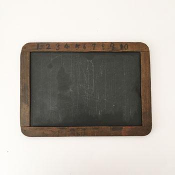 黒板 戦前 石板の黒板 古道具 学校 アンティーク黒板