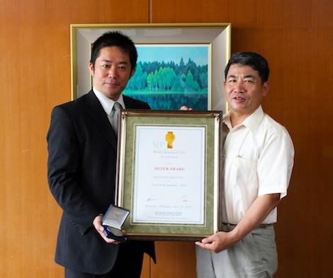 中津川市長との貴重なヒトトキ