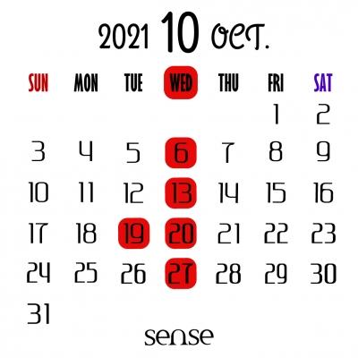 10月の営業