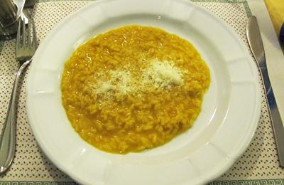 ミラノの夕食リゾット