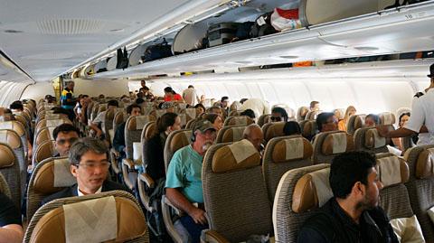 エティハド航空機