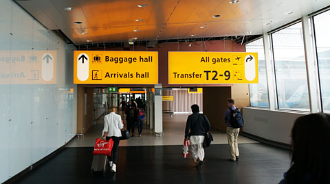 スキポール空港