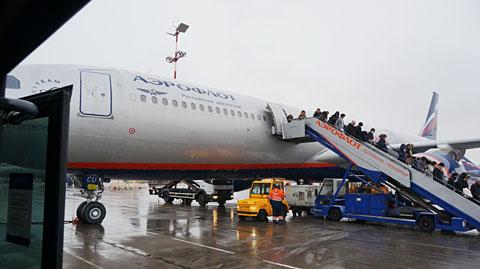 モスクワ_シェレメーチエヴォ空港
