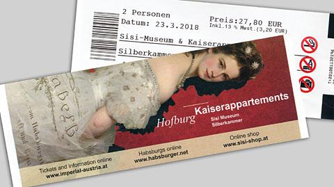 シシィ博物館チケット