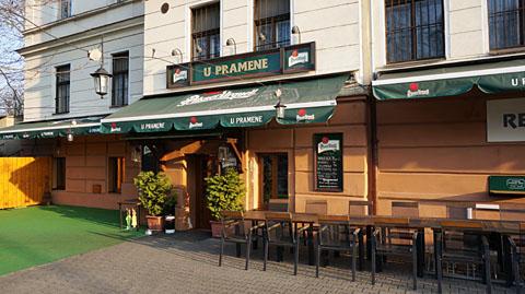 プラハのレストラン