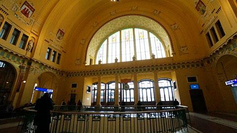 プラハ中央駅