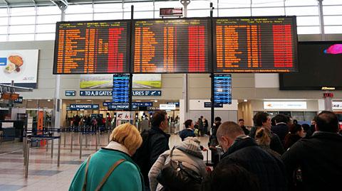 ヴァ−ツラ・ハヴェル・プラハ国際空港