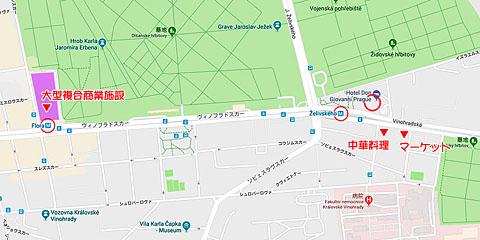 ホテル近辺マップ