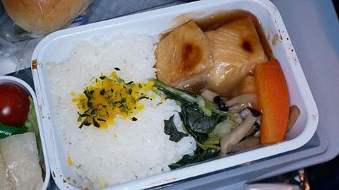 アエロフロート機内食