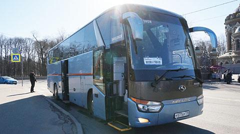 ロシアツアーバス