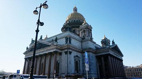 聖イサク寺院