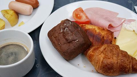 ホリディイン朝食