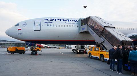アエロフロート航空機