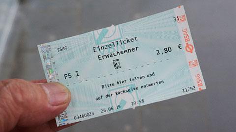 トラムチケット