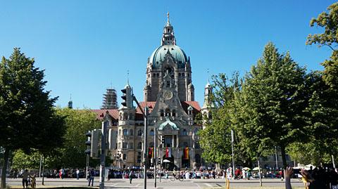 ハノーファー市庁舎