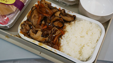 中国国際航空機内食