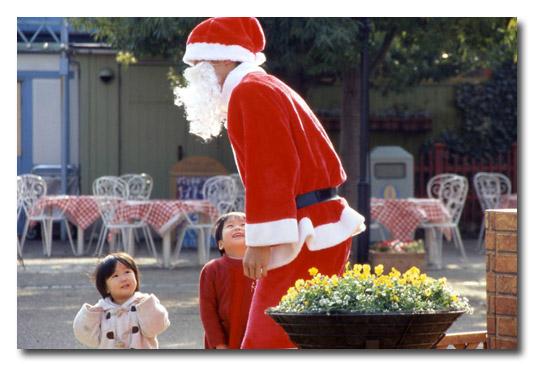 サンタとお子ちゃまinチボリ
