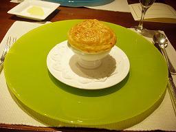 モリーユ茸のクリームスープ