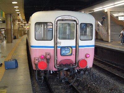 ムーンライト九州 最後尾車両 新大阪駅にて