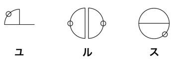 カタカムナ文字