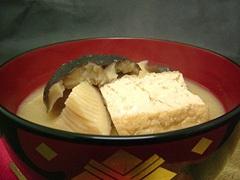 鶴岡の孟宗汁