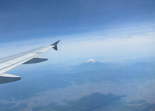 上空の富士1