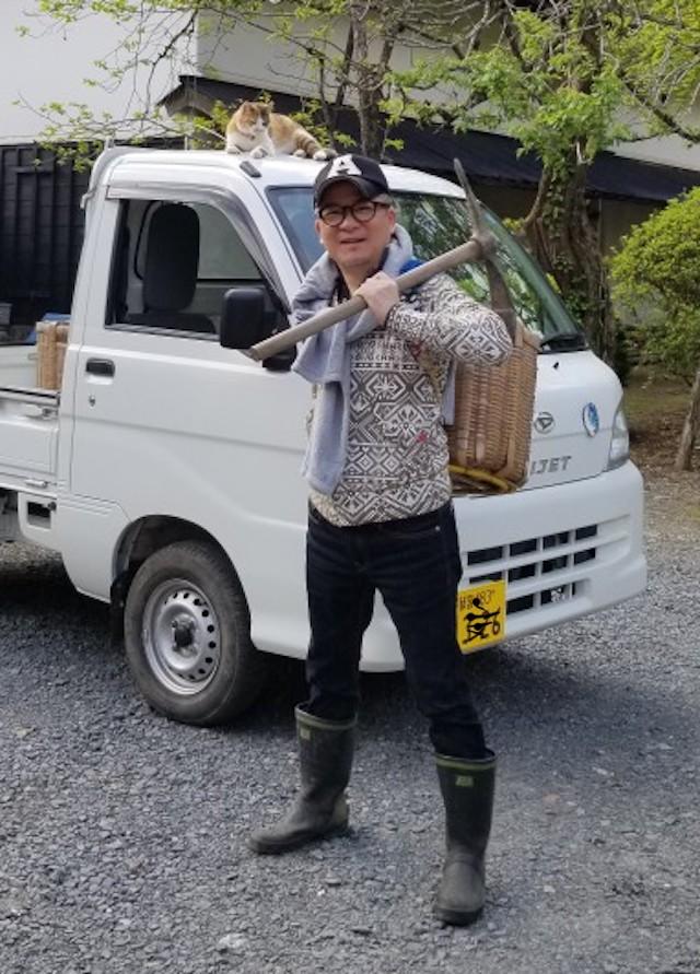 5.4タケノコ掘り1