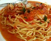 トマトチーズスパ
