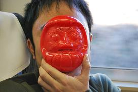 Daruma lunch box