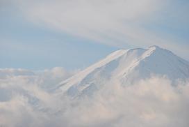 Mt. Fuji in a morning