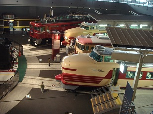 the railmuseum in Saitama