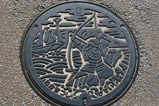 manhole in takamatsu