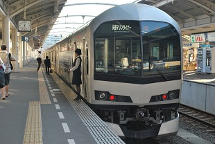 train for okayama