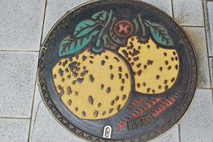manhole in yatsushiro