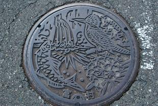 manhole in matsue