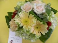 素敵なお花とカード、ありがとうございます!