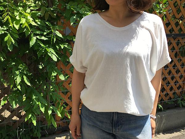 パドカレ UネックTシャツ ホワイト.jpg