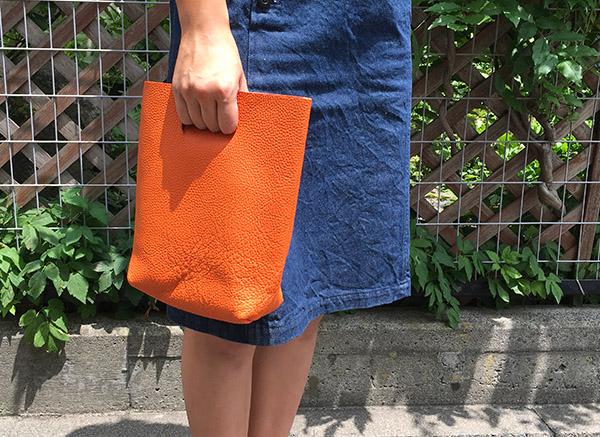 エンダースキーマ not eco bag small オレンジ.JPG