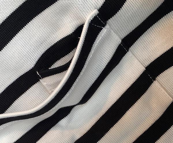 エヌハリウッド ポケット付きボーダーTシャツ.JPG