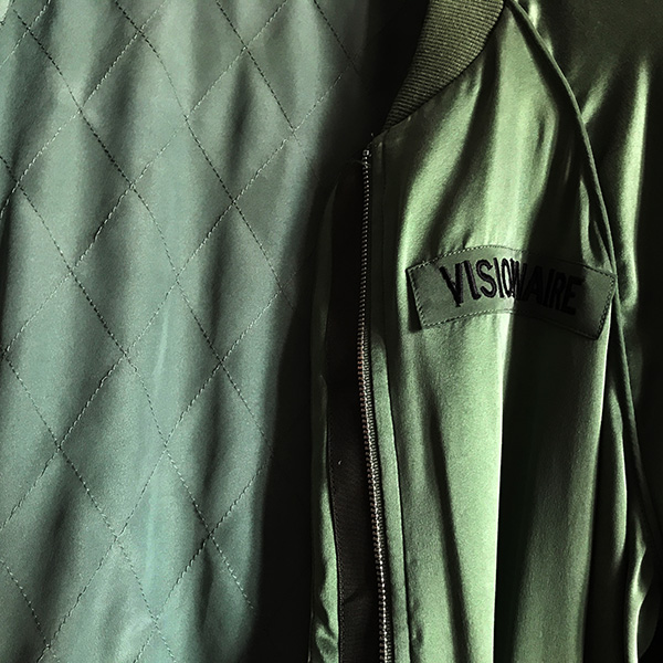 EQUIPMENT KENDRIX BOMBER  BOTTLE GREEN.jpg