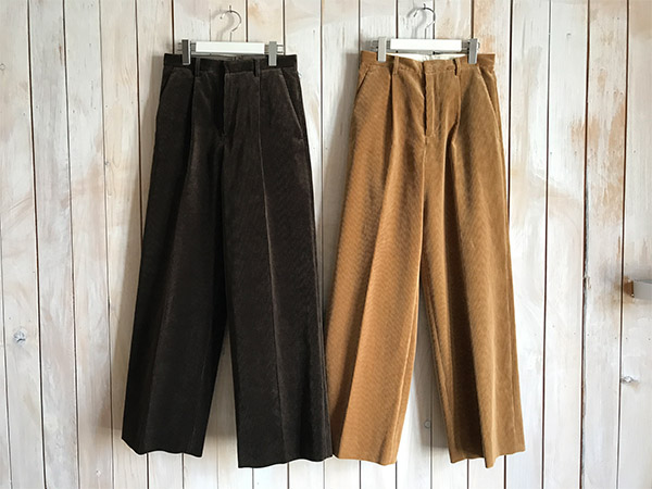 オーラリー WASHED CORDUROY WIDE SLACKS.jpg