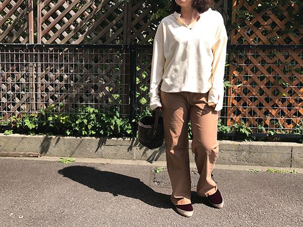 ロンハーマン Chamistie Shirts ivory.jpg
