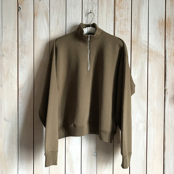 AURALEE BACK WOOL SWEAT HALF ZIP PULLOVER.jpg