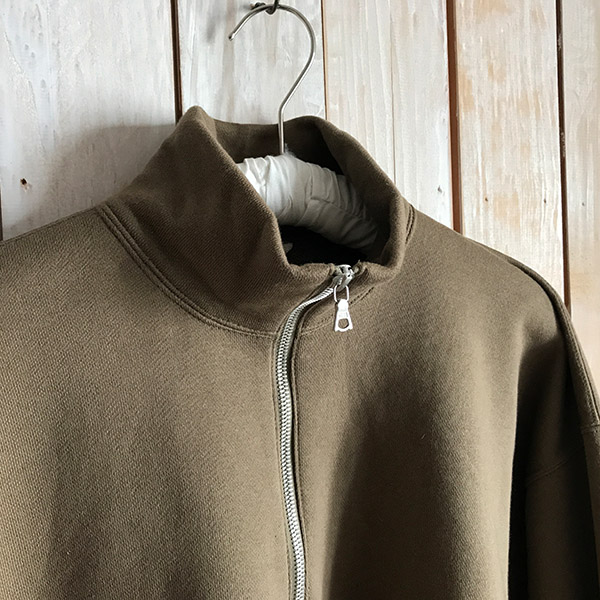オーラリー BACK WOOL SWEAT HALF ZIP PULLOVER.jpg