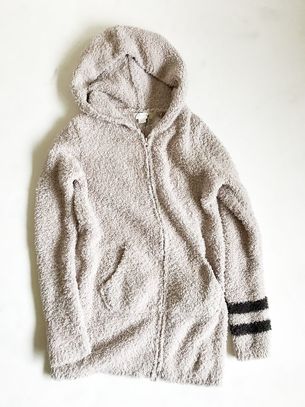 barefoot dreams long zip hoodie with stripe.jpg