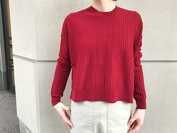 Acne Issy Rib red.jpg