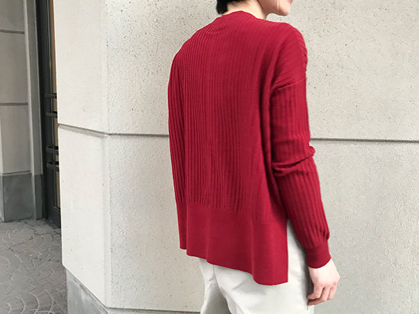 Acne Studios Issy Rib brick red.jpg