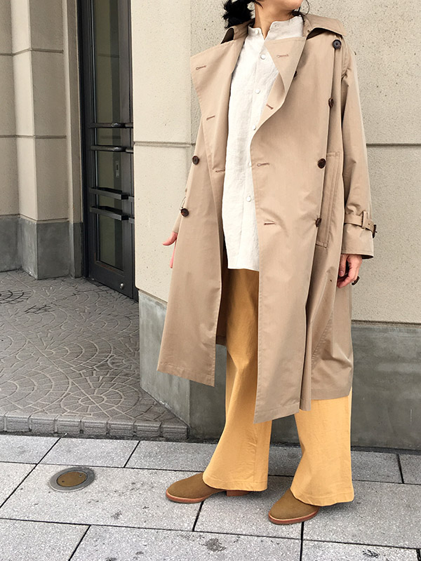 AURALEE FINX POLYESTER BIG TRENCH COAT.jpg