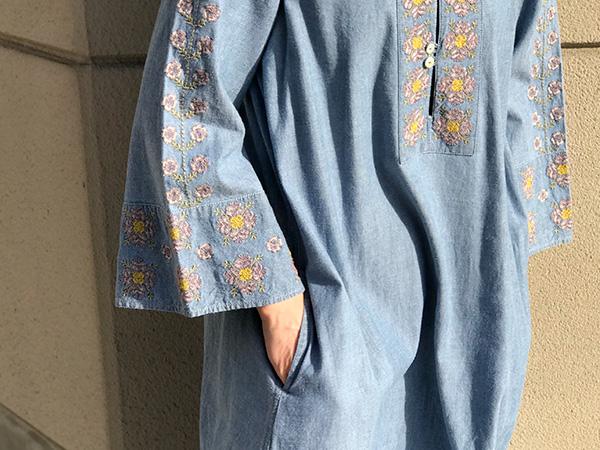 ロンハーマン 刺繍ワンピース.jpg