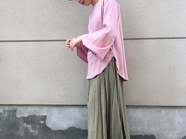 ロンハーマン Tシャツ ピンク.jpg